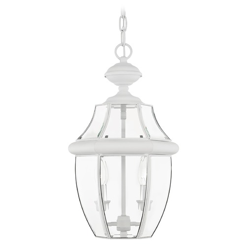 Livex Lighting Livex Lighting Monterey White Outdoor Hanging Light 2255-03