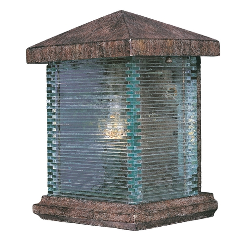 Maxim Lighting Outdoor Wall Light with Clear Glass in Earth Tone Finish 48733CLET