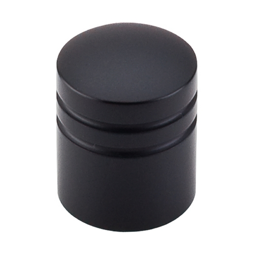 Top Knobs Hardware Modern Cabinet Knob in Flat Black Finish M584