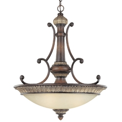 33-3/4-Inch Three-Light Pendant