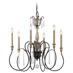 Kichler Lighting Kimblewick Weathered Zinc Chandelier