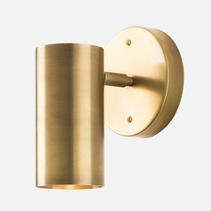 Schoolhouse Electric Eduard Natural Brass Sconce