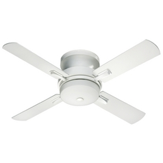 Quorum Lighting Davenport Studio White Ceiling Fan with Light