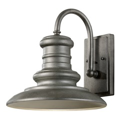 Feiss Lighting Redding Station Tarnished LED Outdoor Wall Light