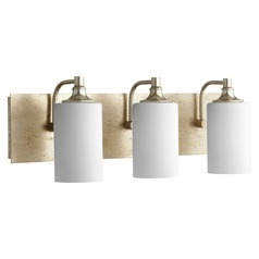 Quorum Lighting Celeste Aged Silver Leaf Bathroom Light