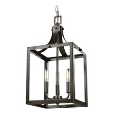 Sea Gull Lighting Labette Heirloom Bronze LED Mini-Pendant Light