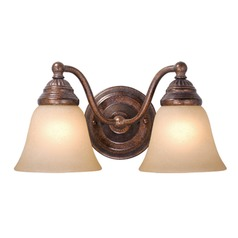Standford Royal Bronze Bathroom Light by Vaxcel Lighting