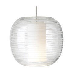 Otto Satin Nickel Mini-Pendant Light by Tech Lighting