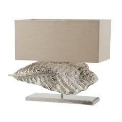 Dimond Lighting Nickel Table Lamp with Rectangle Shade