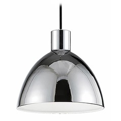 Farmhouse Chrome LED Pendant 3000K 920LM