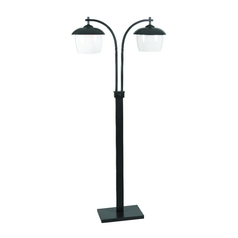 Kenroy Home Lighting Modern Floor Lamp in Oil Rubbed Bronze Finish 32141ORB