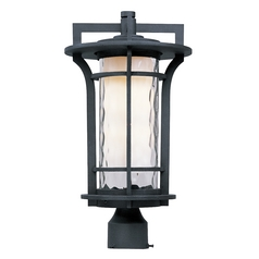 Maxim Lighting Oakville Ee Black Oxide Post Light