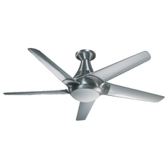 Quorum Lighting Daystar Brushed Aluminum Ceiling Fan with Light