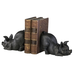 Cyan Design Piggy Old World Bookend