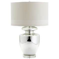 Cyan Design Winnie Polished Chrome Table Lamp with Drum Shade