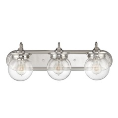 Savoy House Polished Nickel Bathroom Light