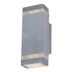 Maxim Lighting Lightray Brushed Aluminum LED Sconce
