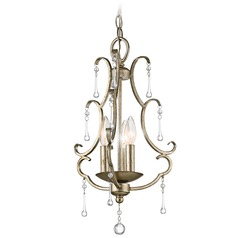 Kichler Lighting Shelsley Sterling Gold Pendant Light