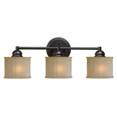 Kenroy Home Barney Oil Rubbed Bronze Bathroom Light