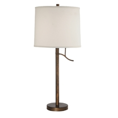 Modern Table Lamp in Bronze Finish - Shade Not Included