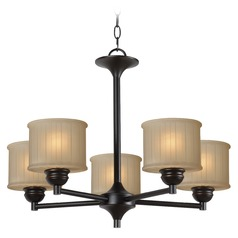 Kenroy Home Barney Oil Rubbed Bronze Chandelier