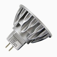 7.5W 2 Pin LED Bulb MR-16 Flood 36 Degree Beam Spread 410LM 2700K Dimmable