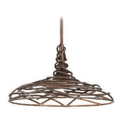 Troy Lighting Sanctuary Cottage Bronze LED Pendant Light