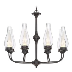 Savoy House Lighting Wickford English Bronze LED Chandelier