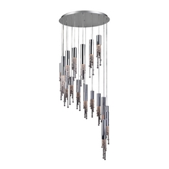 Modern Multi-Light Pendant Light 18-Lights