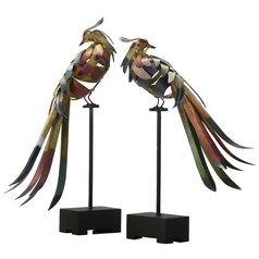 Cyan Design Birds Multi-Color Sculpture