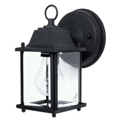 Capital Lighting Outdoors Black Outdoor Wall Light