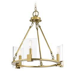 Kichler Lighting Signata Natural Brass Mini-Chandelier