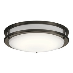 Transitional LED Flushmount Light Olde Bronze Avon by Kichler Lighting