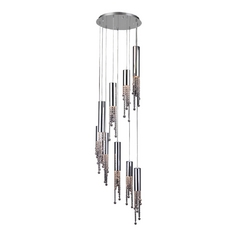 Modern Multi-Light Pendant Light 9-Lights