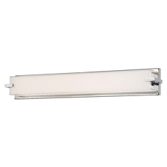 Cubism Chrome LED Bathroom Light - Vertical or Horizontal Mounting