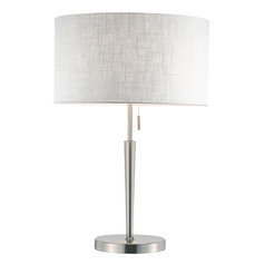 Adesso Home Lighting Hayworth Satin Steel Table Lamp