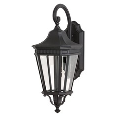 Feiss Lighting Cotswold Lane Black LED Outdoor Wall Light