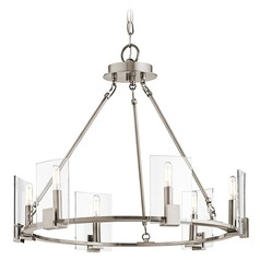Kichler Signata 6-Light Chandelier in Classic Pewter