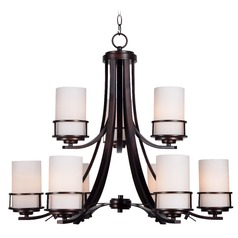 Kenroy Home Theo Polished Copper Chandelier
