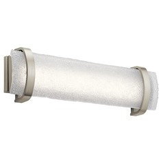 Elan Lighting Adara Brushed Nickel LED Bathroom Light