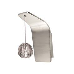 WAC Lighting Polaris Brushed Nickel Sconce