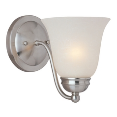 Maxim Lighting Basix Ee Satin Nickel Sconce