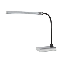 Lite Source Lighting Ermete Silver LED Desk Lamp