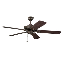 Kichler Lighting Kichler 52-Inch Outdoor Ceiling Fan with Five Blades 339520TZP