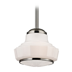 Hudson Valley Lighting Odessa Satin Nickel Pendant Light