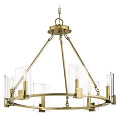 Kichler Lighting Signata Natural Brass Chandelier