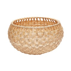 Medium Natural Fish Scale Basket
