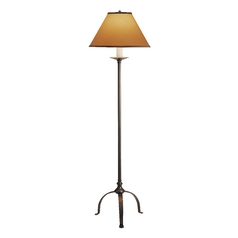 Penny-Foot Floor Lamp with Conic Shade
