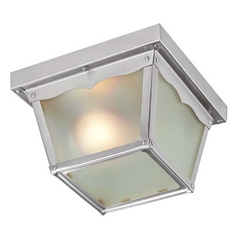 Livex Lighting Brushed Nickel Close To Ceiling Light