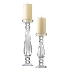 Cyan Design Clear Candle Holder